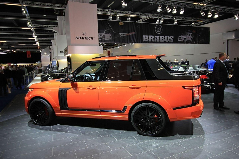 Der Range Rover Pickup von Startech sorgt für ungläubige Blicke.
