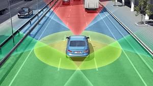 Zulieferer, wie Bosch, tüfteln am Autonomen Fahren
