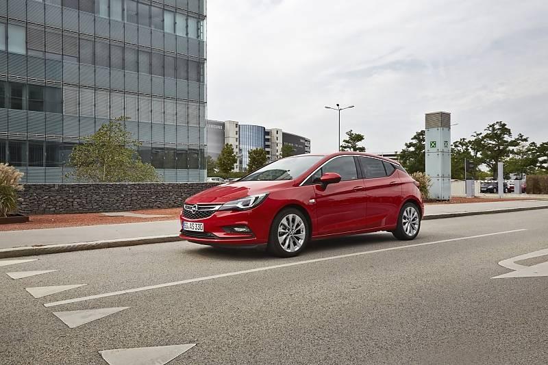 Opel Astra 1.4 Turbo - die Start-Stopp-Automatik kostet Aufpreis