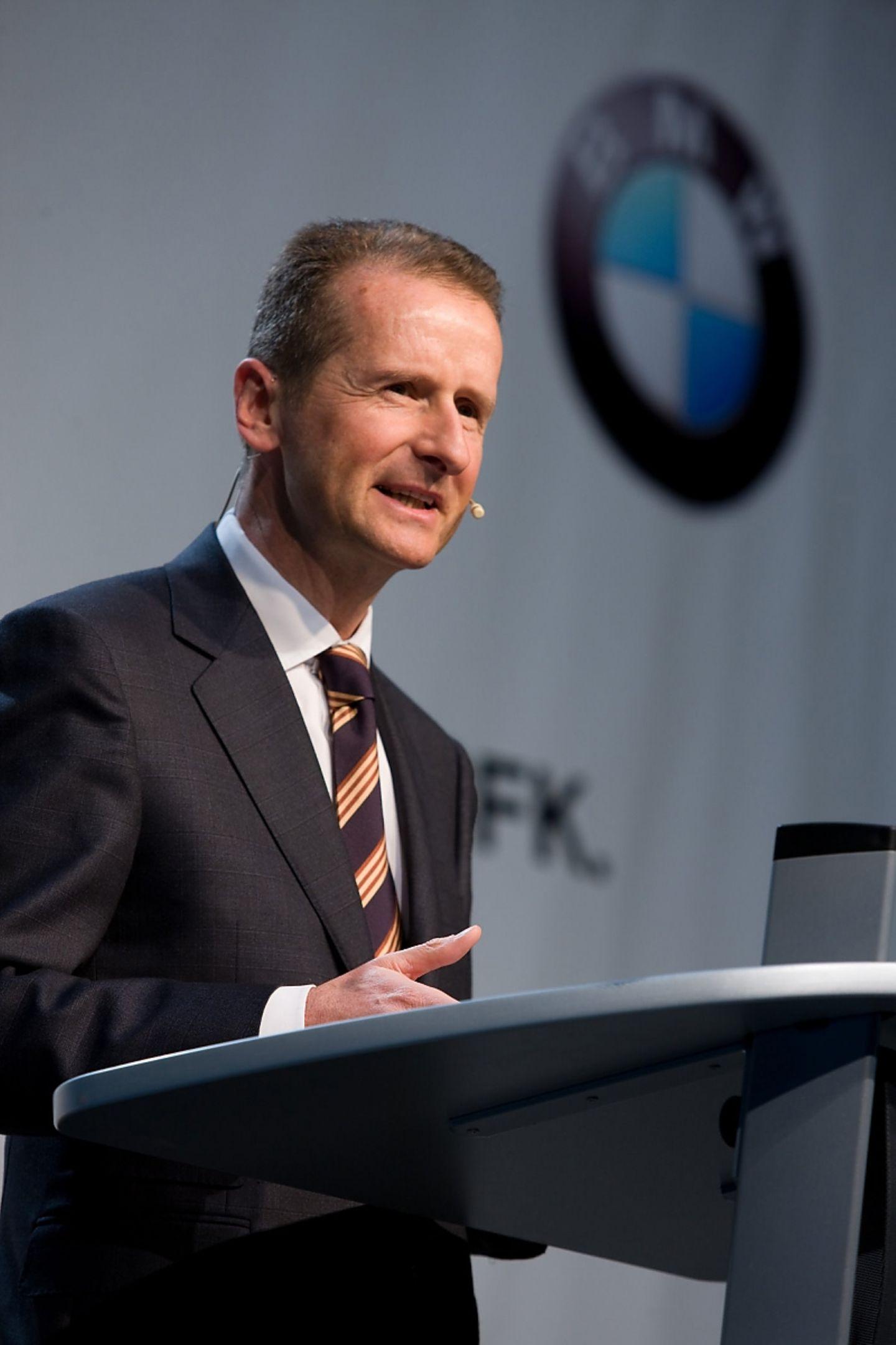 Herbert Diess, ehemals BMW, jetzt VW Markenvorstand