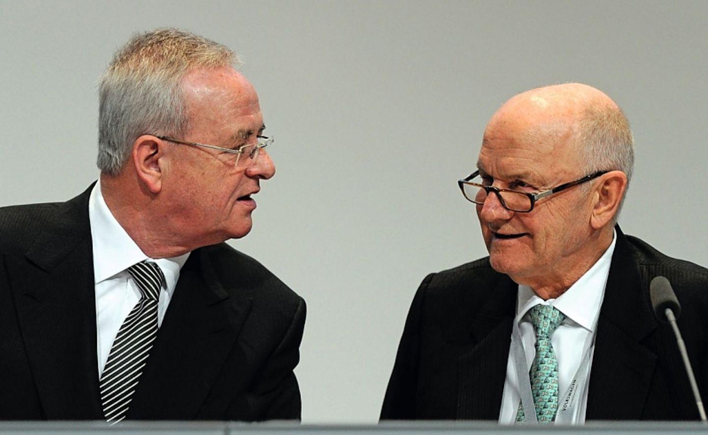 Martin Winterkorn (links) und Ferdinand Piëch