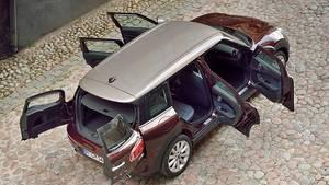 Fünf Klappen und viel dahinter: Beim Mini Clubman Cooper S sind die Platzverhältnisse im Innenraum deutlich gewachsen