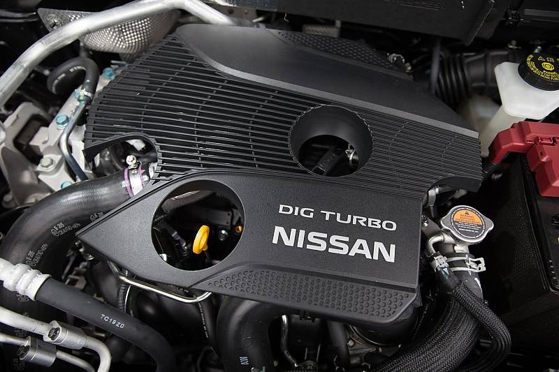 Der Nissan X Trail 1.6 DIG-T hat 163 PS