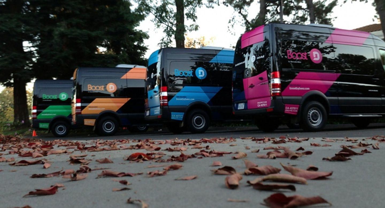 Boost by Benz Fahrdienst in Palo Alto