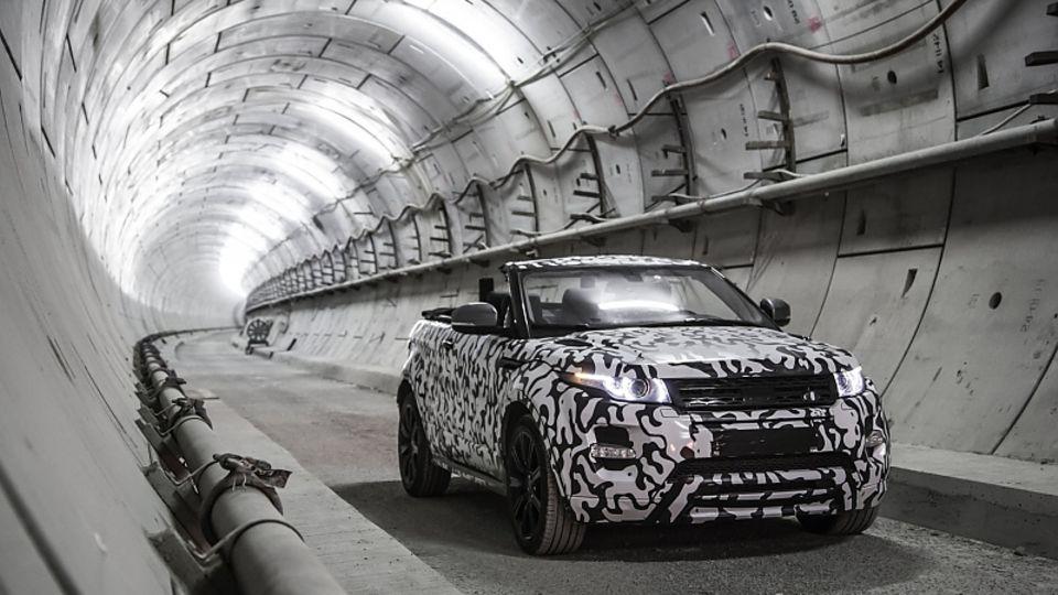 Range Rover Evoque Cabriolet Prototyp