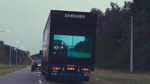 """Wie Samsung mit """"Safety Trucks"""" die Straßen sicherer machen will"""
