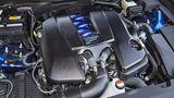 5,0 Liter Hubraum hat der V8-Benzinmotor des Lexus GS F.