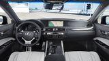Das Cockpit des Lexus GS F.