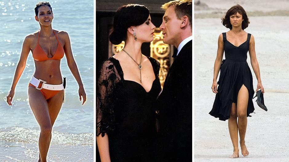 Neuer James Bond Film Spectre: Der Stil der Bond Girls von ... Olga Kurylenko Dress