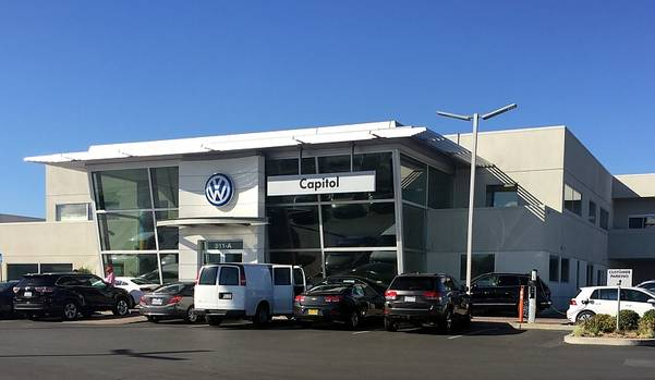 Volkswagen Händler im Silicon Valley Herbst 2015