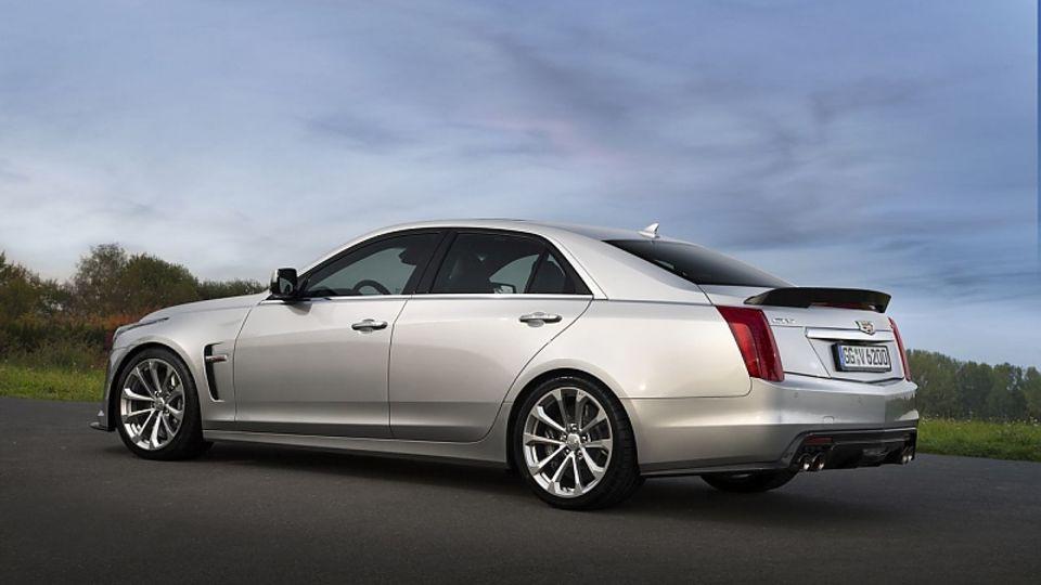 Der Cadillac CTS-V ist gegen den BMW M5 positioniert