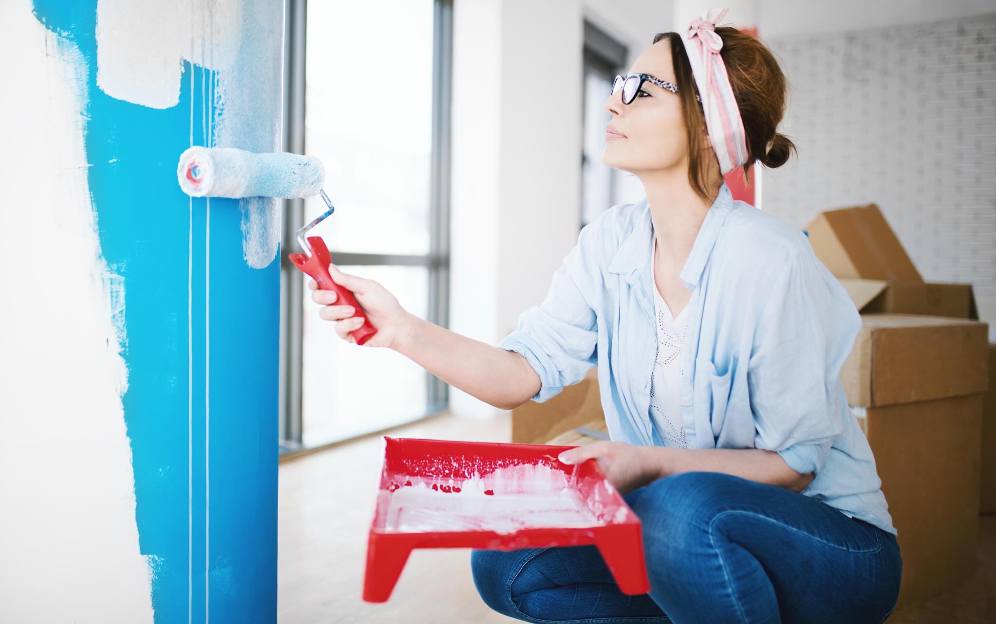 Wandfarbe im Test: Billigfarbe oder Markenqualität - was ist besser ...