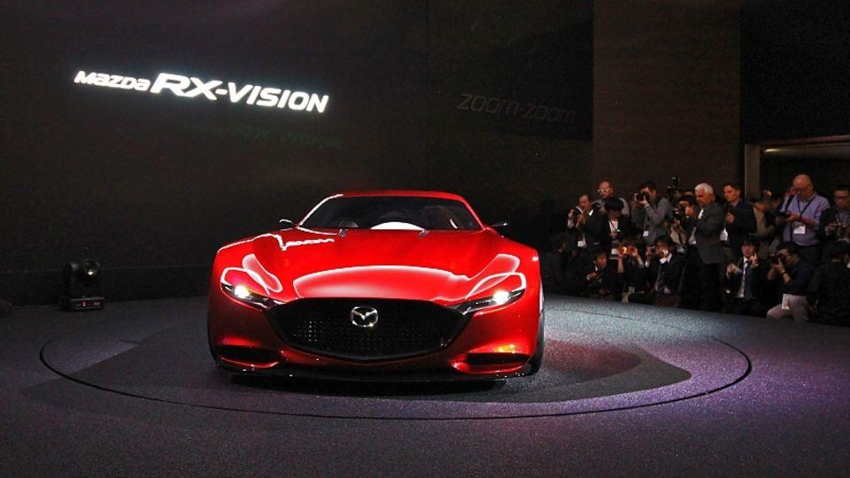 Mazda RX Vision - die Japaner kommen bald wieder mit einem Wankel