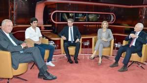 Günther Jauch sprach mit seinen Gästen zum Thema Flüchtlingskrise