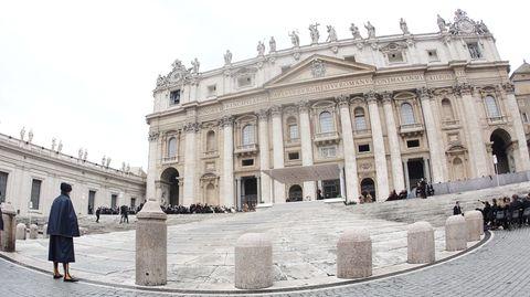 Die Vatikanstadt in Rom