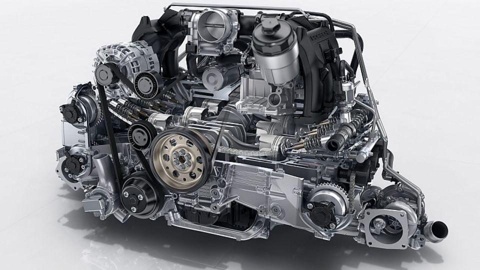Neu sind Turbomotoren beim Carrera