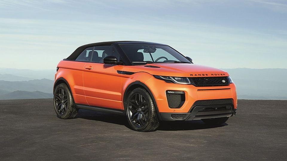 Range Rover Evoque Cabrio - in 21 Sekunden schließt das Dach