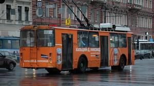 Immerhin kommen die Busse gut durch