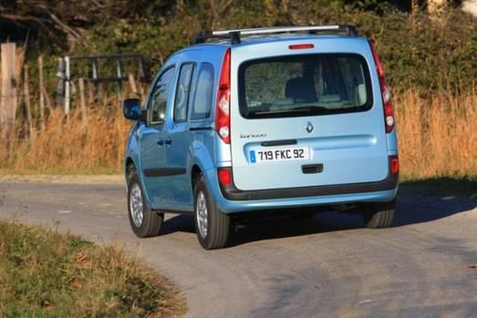 Renault Kangoo - viel Platz im Innern