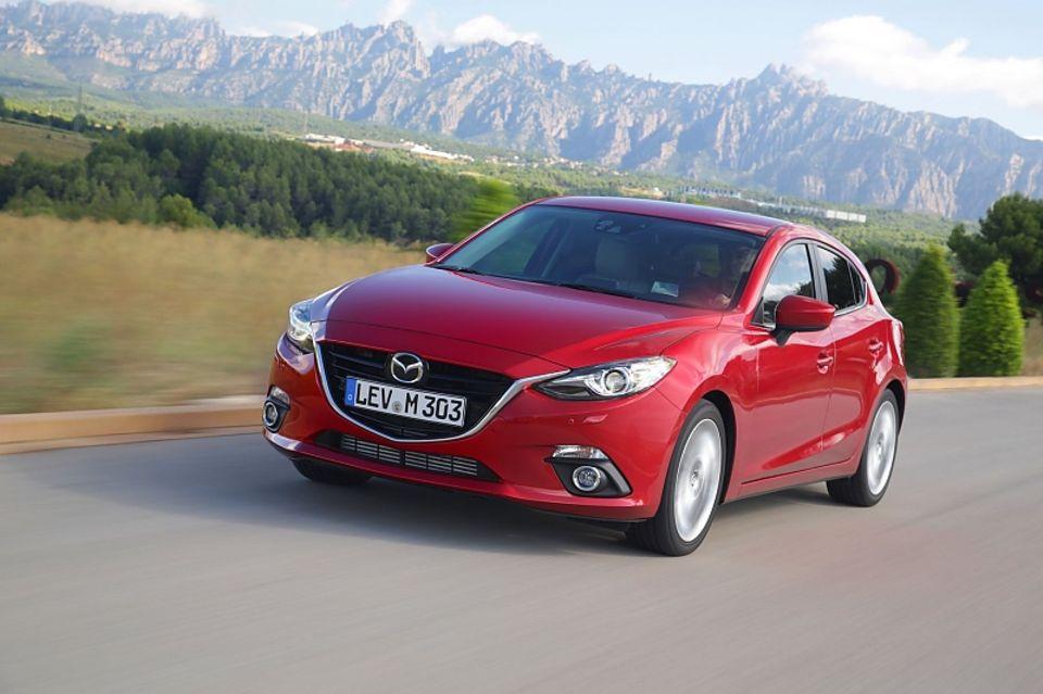 Mazda 3 mit 165 PS