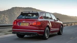 Das Heck entspricht der Bentley-Formensprache