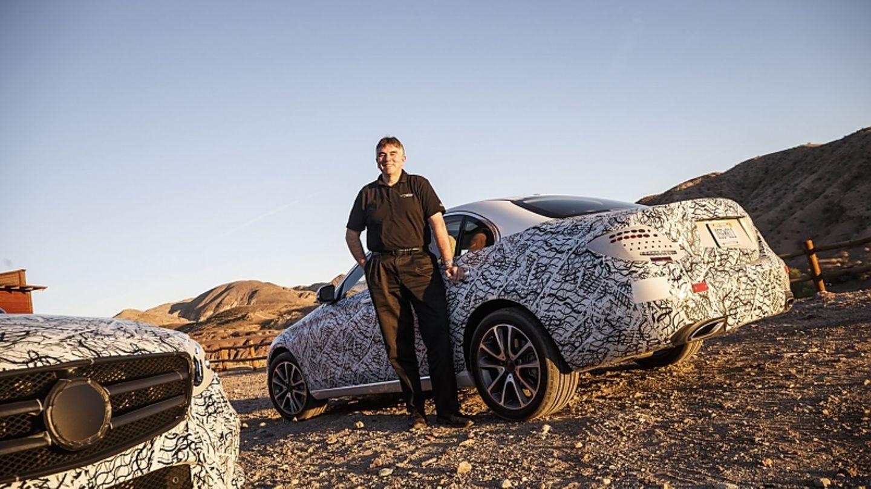 Mercedes E-Klasse 2015 Erprobung - Entwicklungsleiter Michael Kelz