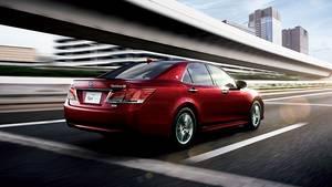 Toyota Crown 2016 - kann sich auch von hinten sehen lassen