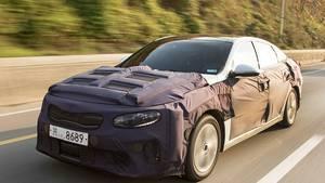 Kia Optima PHEV 2016 Prototyp