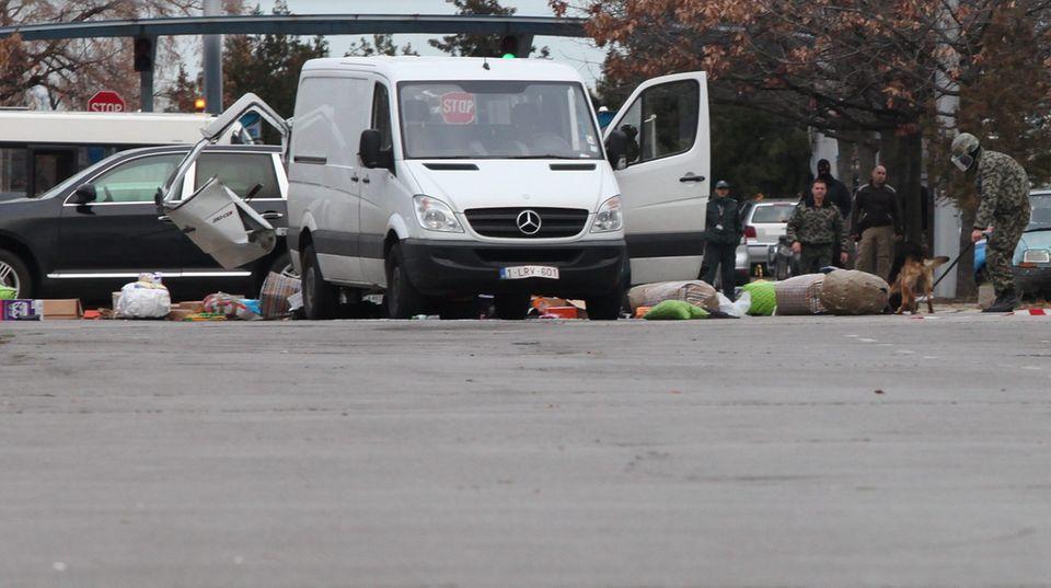 Bombenalarm am Flughafen in Sofia