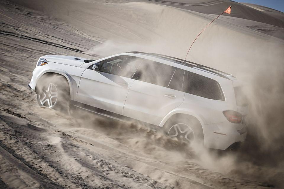 Mercedes GLS 500 4matic - und 700 Nm maximales Drehmoment