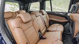 Mercedes GLS 2016 - in der zweiten Reihe sitzt man nur mäßig bequem