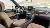 Mercedes GLS 2016 - viel Platz im Innern