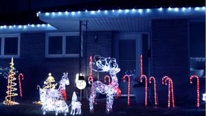 Der Vorgarten leuchtet taghell: Dank Rentieren und Schlitten aus grell-leuchtenden LED-Schläuchen wird es bei Ihnen vorm Haus niemals dunkel? Das kann Ärger geben. Zum einen durch gestörte Nachbarn. Daher sollte die Beleuchtung zwischen 22 Uhr und 6 Uhr ausgeschaltet sein. Auch Autofahrer dürfen durch den Lichterprunk nicht abgelenkt werden. Dabei spielt es keine Rolle, ob die Lichter im Vorgarten stehen oder als Lichterkette im Fenster aufgehängt wurden.