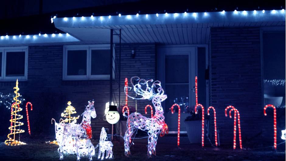 Weihnachtsbeleuchtung Nicht Alles Ist Erlaubt Gerade Als Mieter