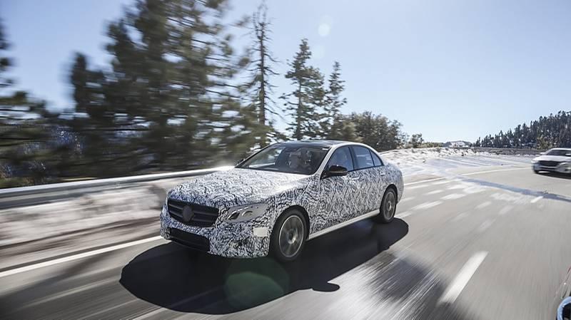 Mercedes E-Klasse 2015 Erprobung