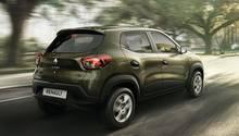 Renault Kwid Indien 2015 - der Motor leistet 54 PS und 72 Nm