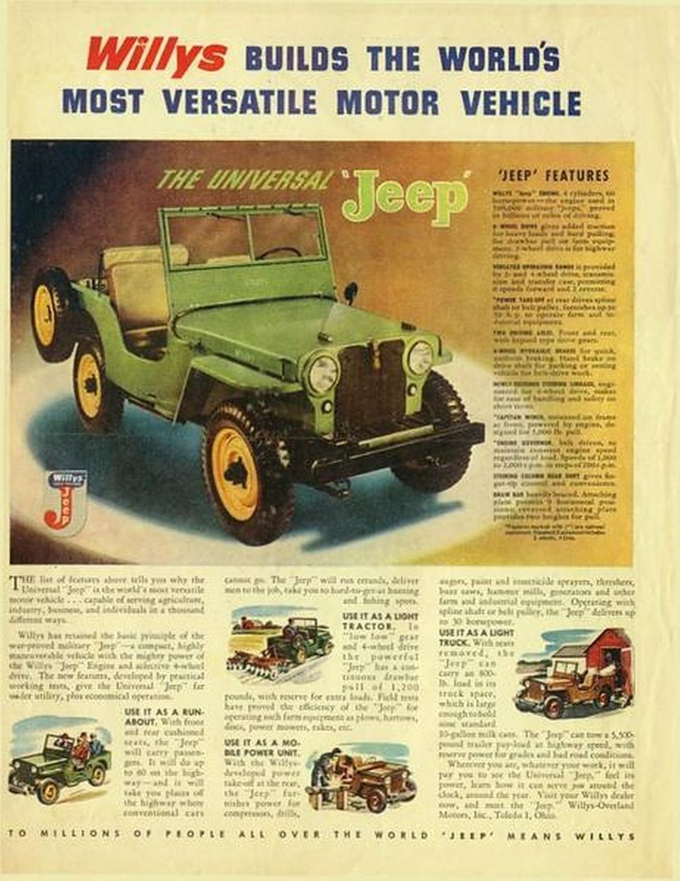 Jeep Werbung