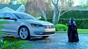 Auch VW hatte einen Star Wars Werbespot