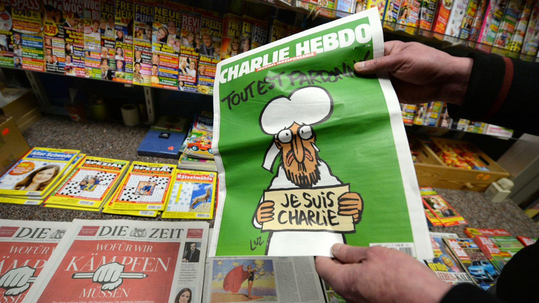 Charlie Hebdo Google Jahresrückblick