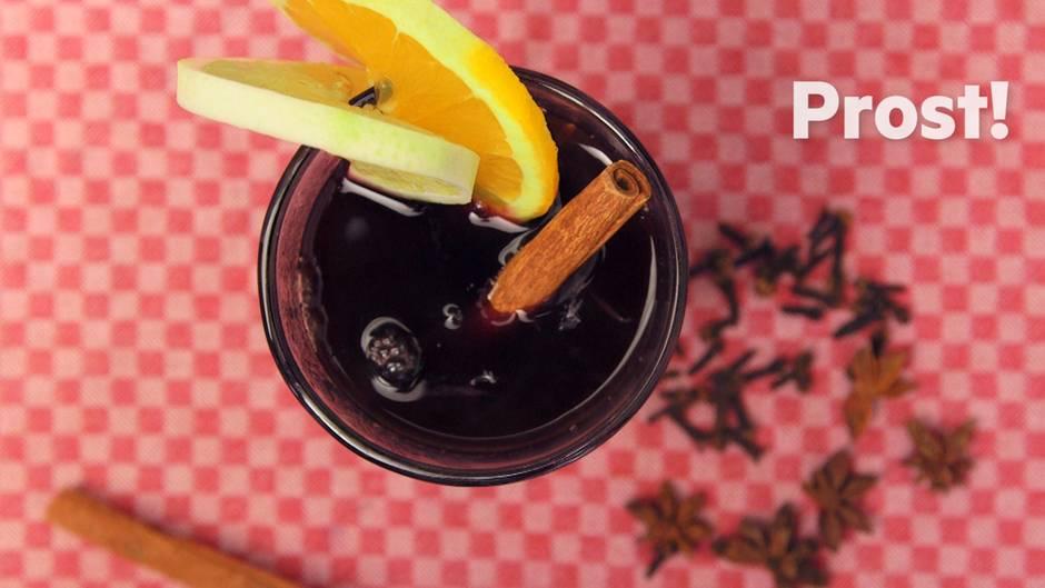 Küchentipp: Sie werden Glühwein nie mehr anders trinken wollen