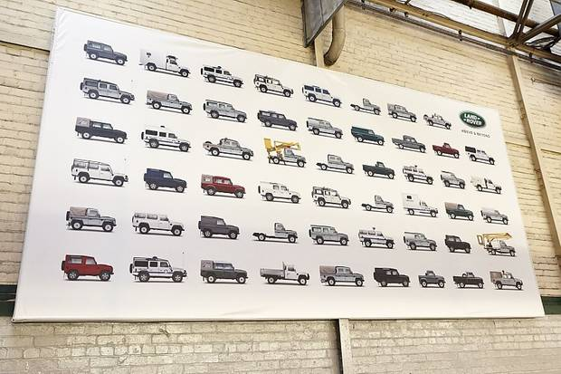 Mehr als genug Variationen gibt es vom Land Rover Defender.