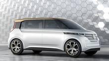 Studie des VW Budd-e auf der CES 2016 in Las Vegas