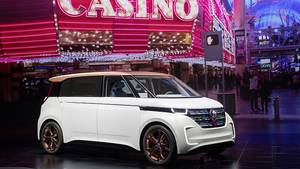 VW Budd-e Concept auf der CES 2016