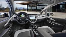 Das Cockpit des Chevrolet Bolt