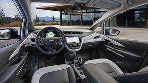 Das Cockpit des Chevrolet Bolt