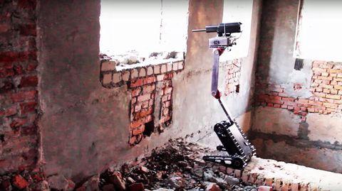 Der Minirex im Einsatz in einem Demonstrationsvideo