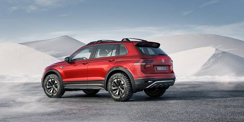 VW Tiguan GTE Active Concept auf der NAIAS 2016