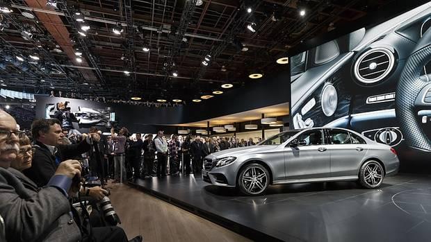 Mercedes E Klasse 2016 auf der NAIAS 2016