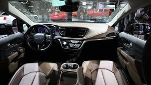 Das Cockpit ist modern
