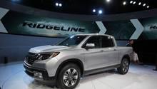 Der Honda Ridgeline Hat einige Assistenzsysteme